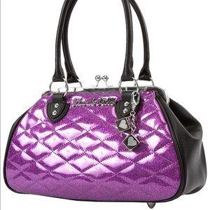 Sin City kiss lock - purple sparkle